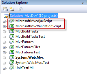 mvc-solution