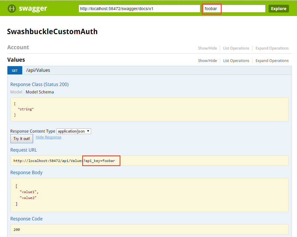 Steve Michelotti Customize Authentication Header In Swaggerui Using